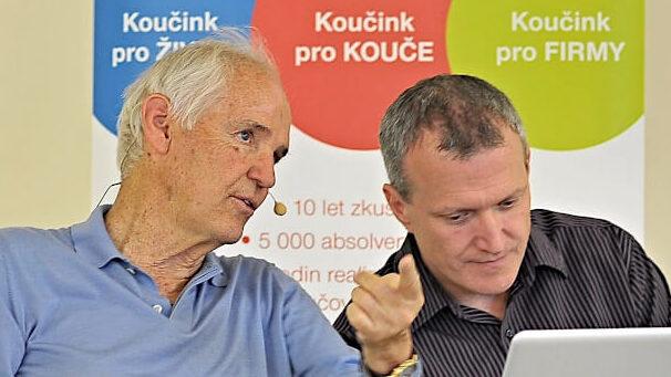 Michal Ondráček a Timothy Gallwey
